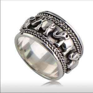 925 ANTIQUE SILVER RING